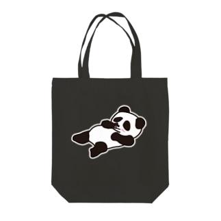 リラックスパンダ(リラッンダ) Tote bags