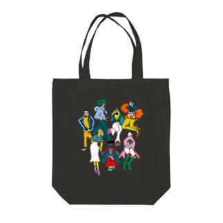 戦隊☆ Tote bags
