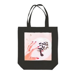 catch the love Tote bags