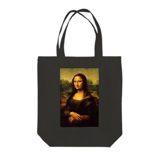 名画「モナ・リザ」 Tote bags