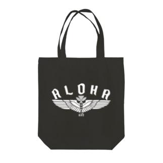 Aloha Wing Tote bags