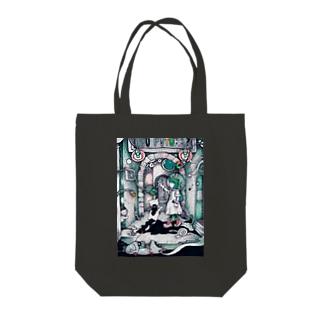 アストロガール Tote bags