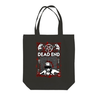 DEAD END Tote bags