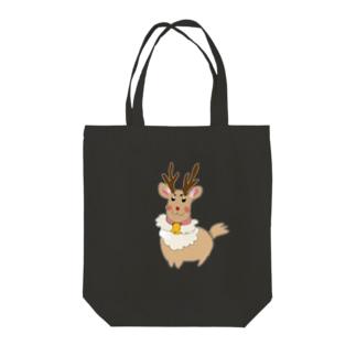 トナカイくん Tote bags