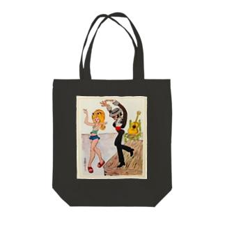 Dancers Tote bags