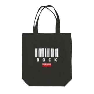 ROCK -1- Tote bags