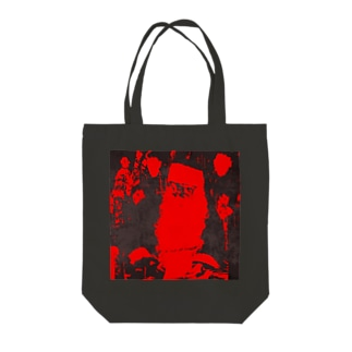 ブラックサンタクロース Tote bags
