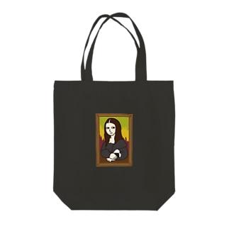 モナリザとおむすび Tote bags