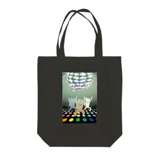 ニャイトフィーバー Tote bags
