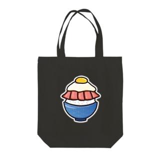 目玉焼き丼15【ローストビーフ】 Tote bags