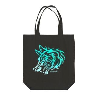 HOW HOWLING  Tote bags
