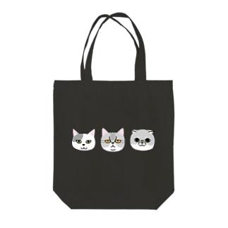 グレネコ Tote bags