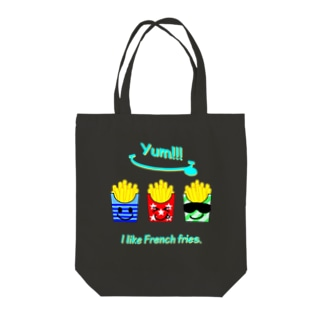 I💛French fries(face ver.) Tote bags