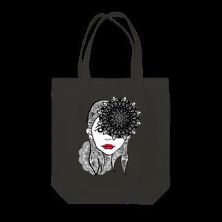 アトリエリトスのセンノカオ Tote bags