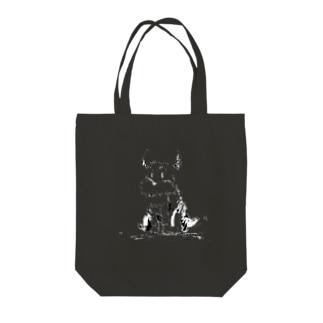 LOOK4.5(black) Tote bags