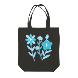 ICE BLOOM Tote bags