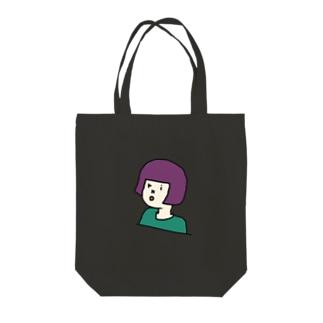 okappa riko version2 Tote bags