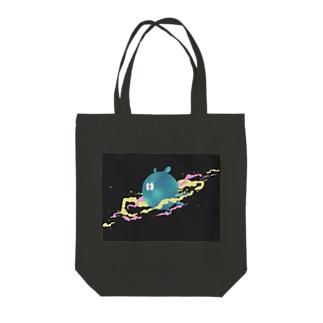 宇宙生物 Tote bags