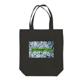 No Money,No Life💵 Tote bags