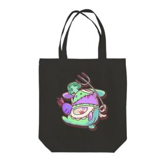 マカロニグラタンのRABBIT_COOK Tote bags