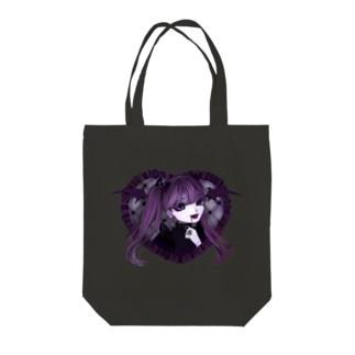 悪魔 Tote bags