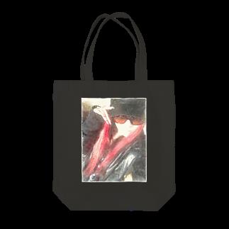 Lost'knotの中ノ紅イ人間 Tote bags