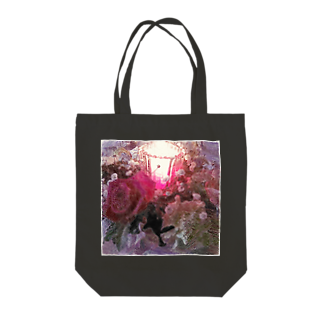 Lost'knotの紅イ花嫁 Tote bags