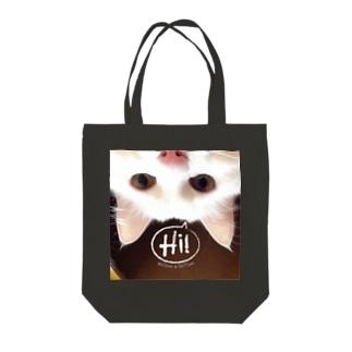 ミルちゃん Tote bags