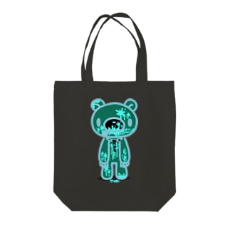【各20点限定】いたずらぐまのグル〜ミ〜(12)fullbloody/nega Tote bags