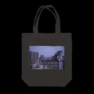 カノコのよるのまちを纏う Tote bags