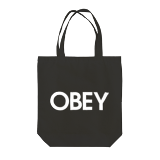 stereovisionのOBEY(服従しろ) Tote bags