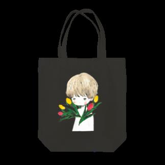 g g gのチューリップ男子 Tote bags