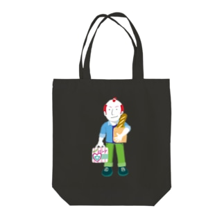 Shopping Boy/濃色トートバッグ Tote bags