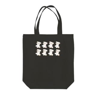 いぬはぴ(整列) Tote bags