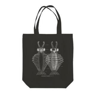 アノマロカリス ブラック Anomalocaris Canadensis Tote Bag
