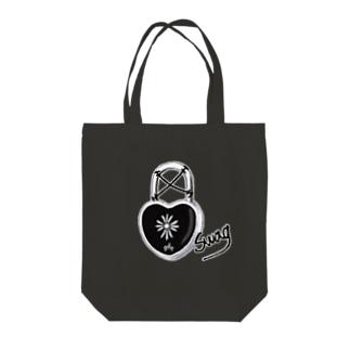 swag padlock Tote bags