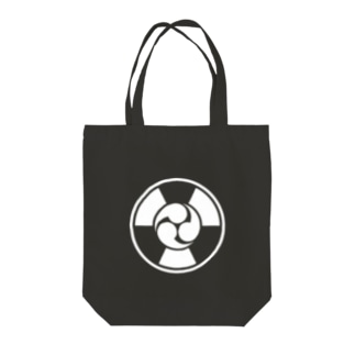 放射線に三つ巴 C Tote bags