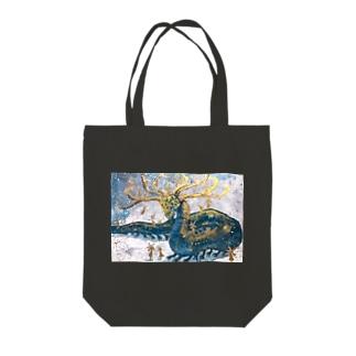 星集いの龍 Tote bags