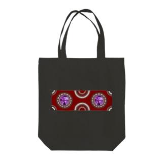 【プリズモリイ魔法雑貨店シリーズ】幸宝石と招魔法のアンティーク風グッズ/アメジスト(紫水晶) Tote bags