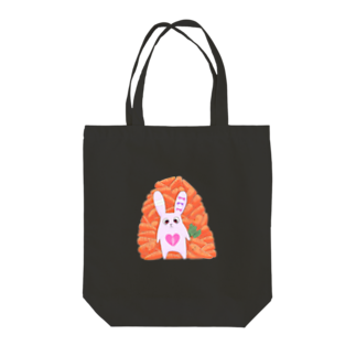 ちよるのさいこ♡らびっと(ロゴ無しver.) Tote bags