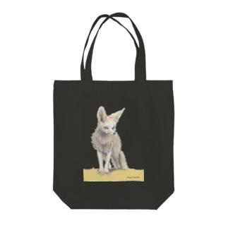 フェネック Tote bags