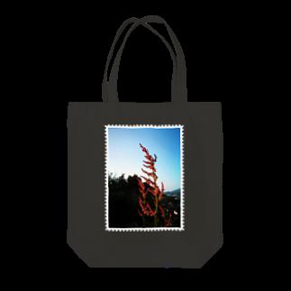 はんぐるぐるぐるの野草シリーズ 「スイバ」 Tote bags