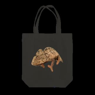 N-Reptilesのウスタレカメレオン Tote bags