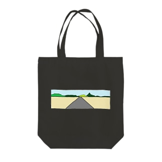 ハイウェイー Tote bags