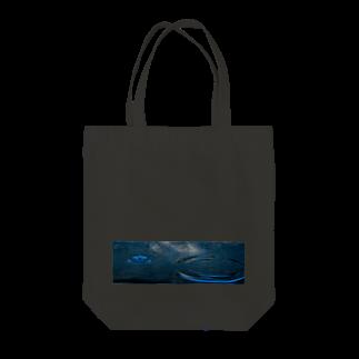 はち / きまぐれハチログの水の模様 Tote bags