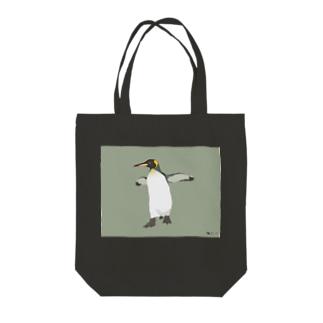 キングペンギン Tote bags