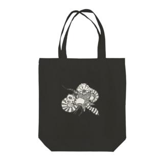 クラゲの世界 Tote bags