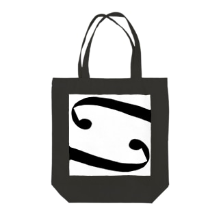 f Hole BK/Strings Tote bags