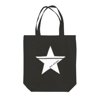 ダイスキッチン応援グッズ(ワンスター白) Tote bags