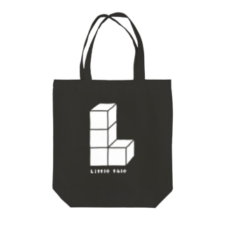 Littleltaleロゴシリーズ(WH) Tote bags